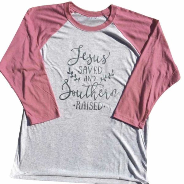 Pink Sleeve Tops Fashion Casual 2