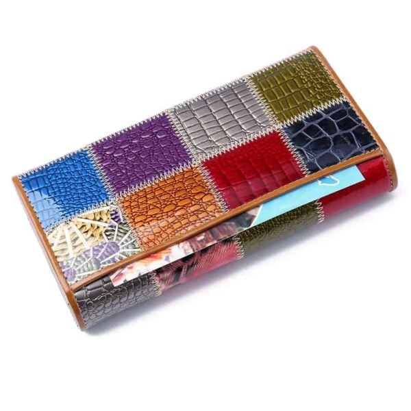 New Fashion Patent Leather Women Wallet 2