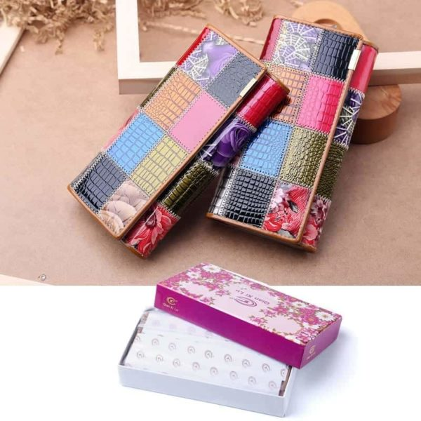 New Fashion Patent Leather Women Wallet 6