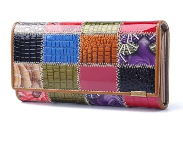 New Fashion Patent Leather Women Wallet 1