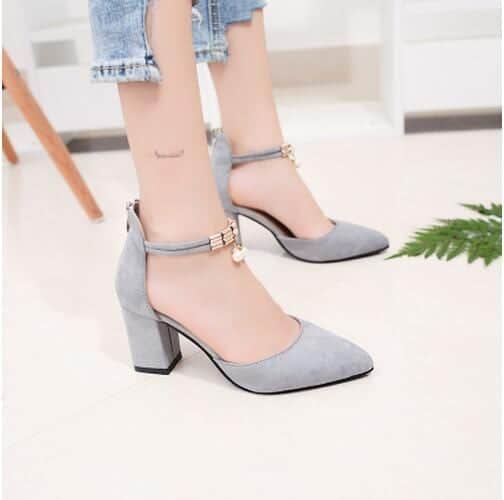 Pointed Toe Dress Shoes High Heels 8