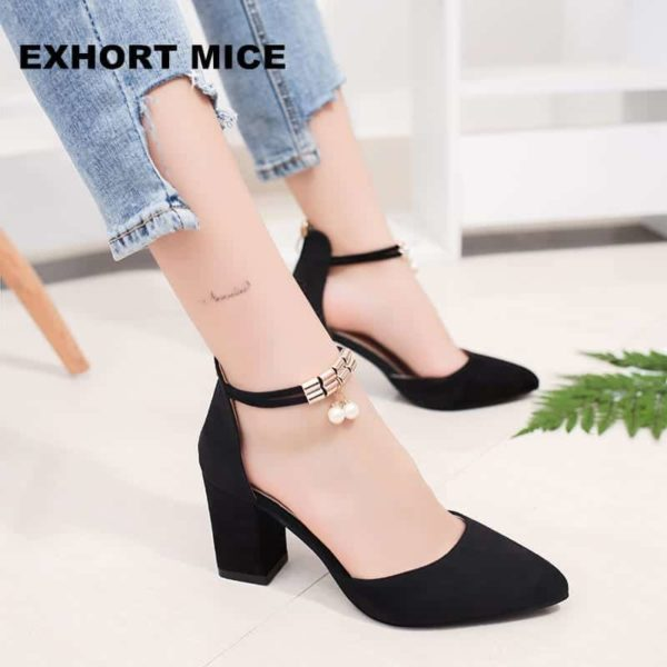 Pointed Toe Dress Shoes High Heels 1