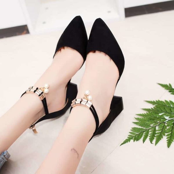 Pointed Toe Dress Shoes High Heels 2