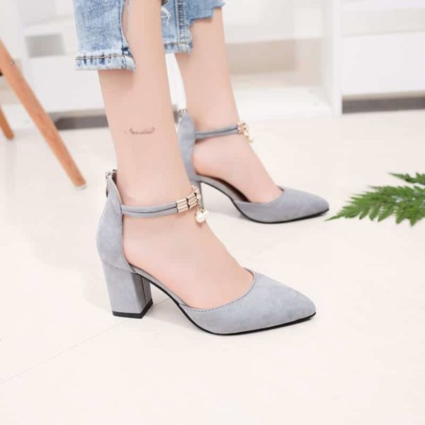 Pointed Toe Dress Shoes High Heels 4
