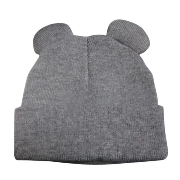 Knitted Braid Hat With Ears 9