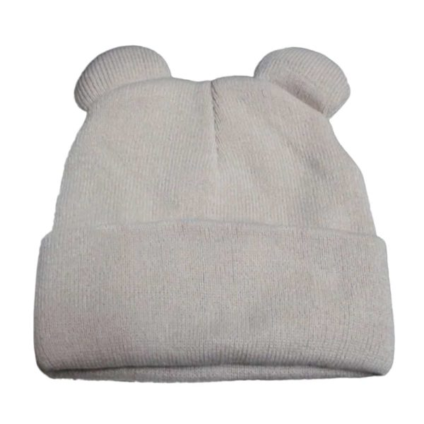Knitted Braid Hat With Ears 4