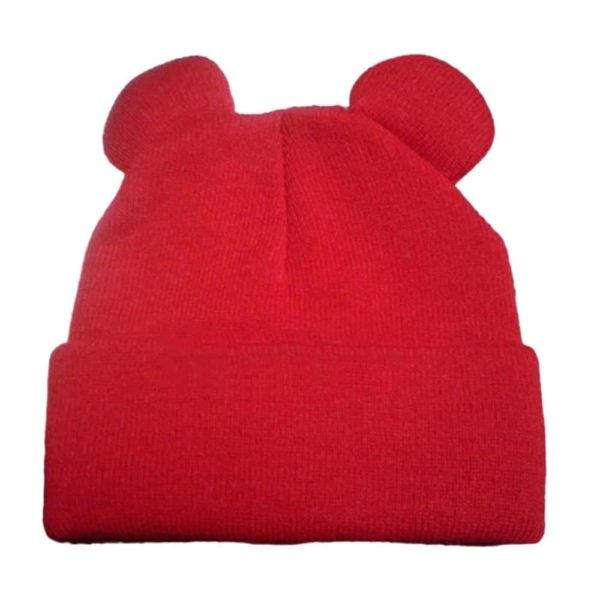 Knitted Braid Hat With Ears 6