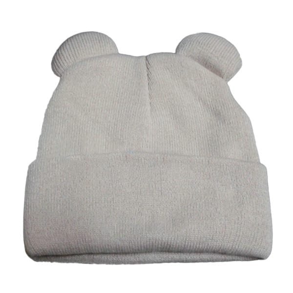 Knitted Braid Hat With Ears 7