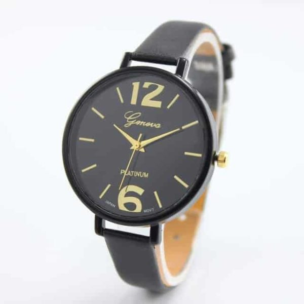 Luxury Ladies Watch With Leather Colorful 8
