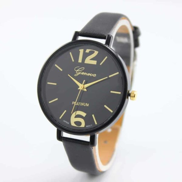 Luxury Ladies Watch With Leather Colorful 4