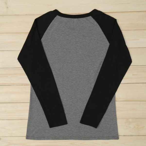 Casual Soft O-Neck Long Sleeve Tops 3