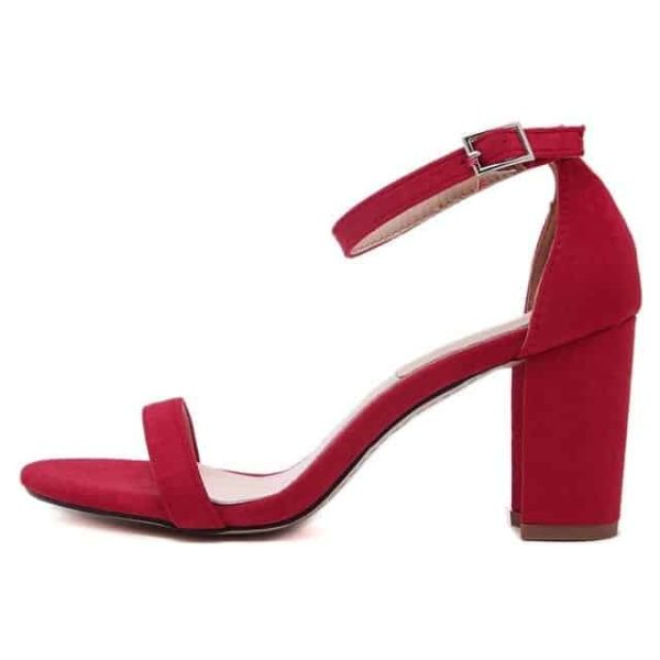Ankle Strap Heels Women Shoes 6