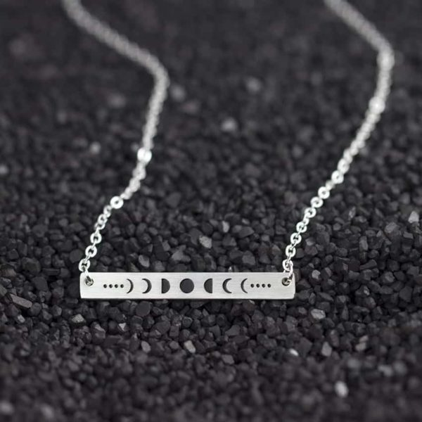 New Celestial Moon Phases Necklace 3