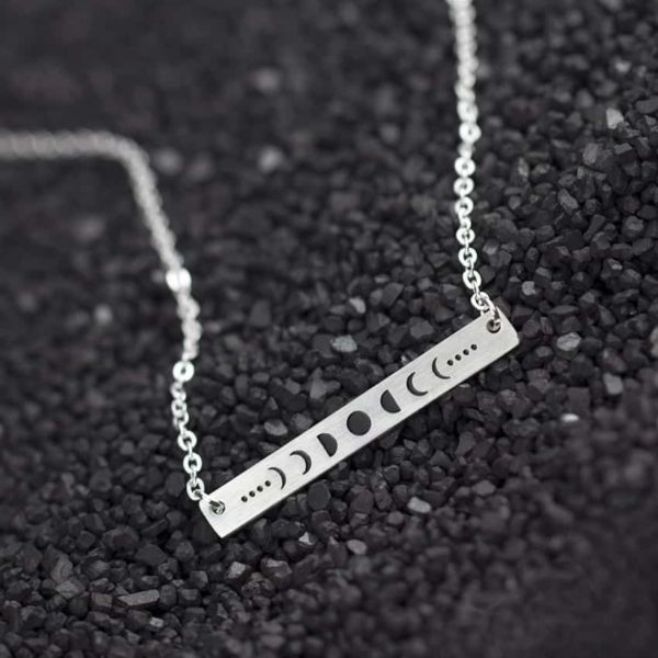 New Celestial Moon Phases Necklace 4