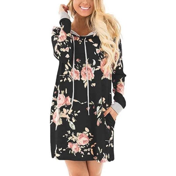 LASPERAL New Floral Dress