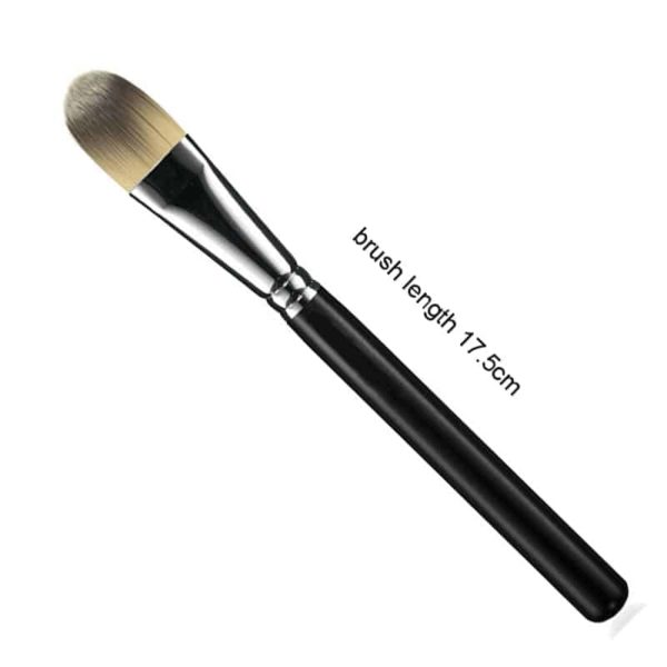 Face Brush Flat Foundation Cream Brush Blender Makeup Brushes 3