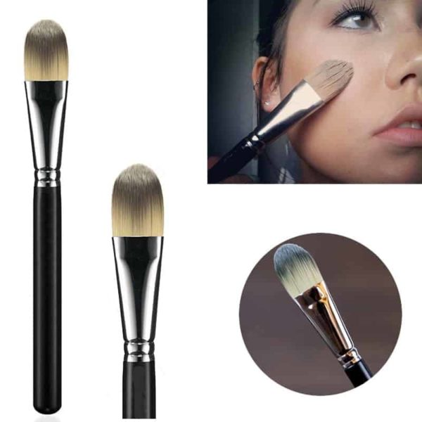 Face Brush Flat Foundation Cream Brush Blender Makeup Brushes 1