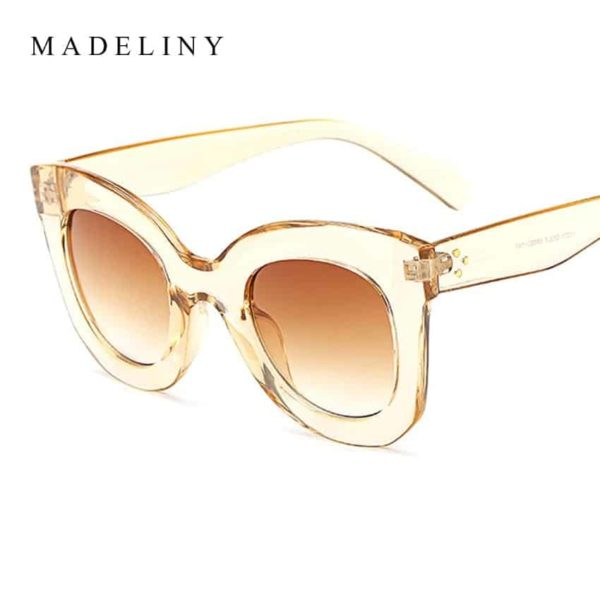 MADELINY New Fashion Cat Eye Sunglasses 3