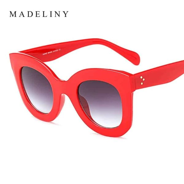 MADELINY New Fashion Cat Eye Sunglasses 5