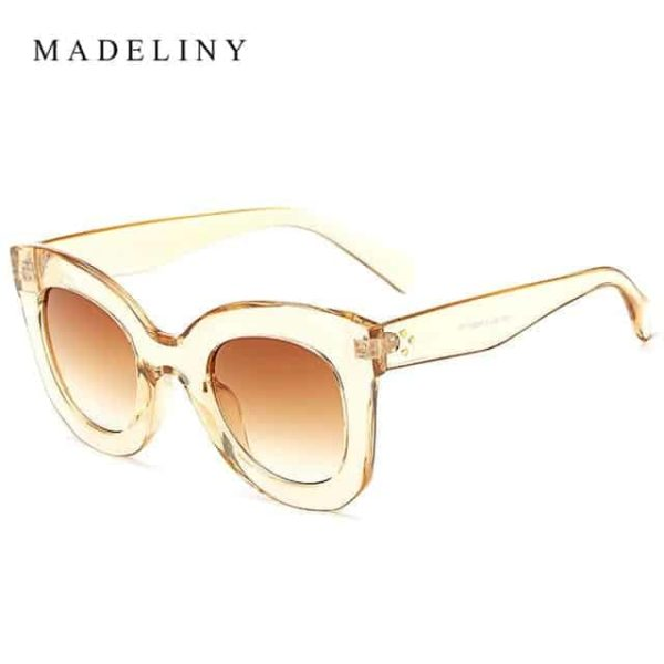 MADELINY New Fashion Cat Eye Sunglasses 12