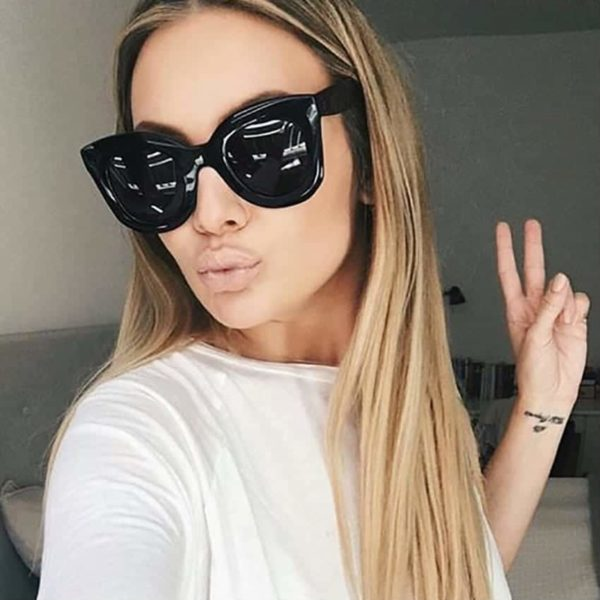 MADELINY New Fashion Cat Eye Sunglasses 1