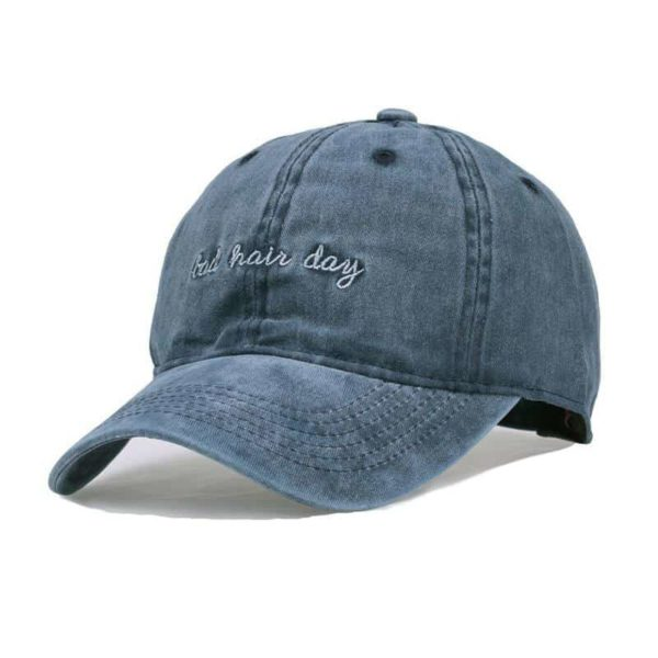 Bad Hair Day Embroidery Baseball Hat 2
