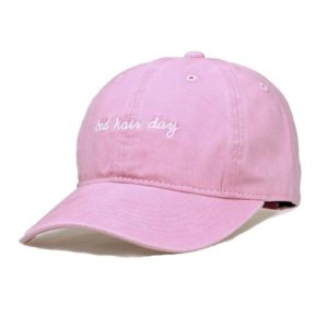 Bad Hair Day Embroidery Baseball Hat