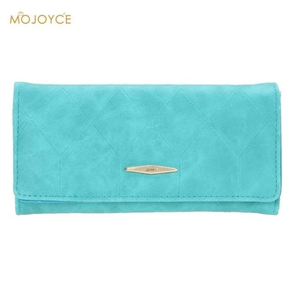 New Fashion PU Leather Women Wallets Vintage 9