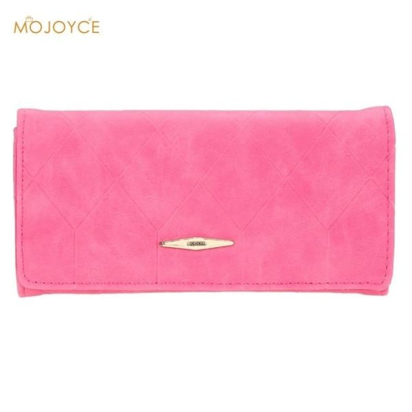 New Fashion PU Leather Women Wallets Vintage 10