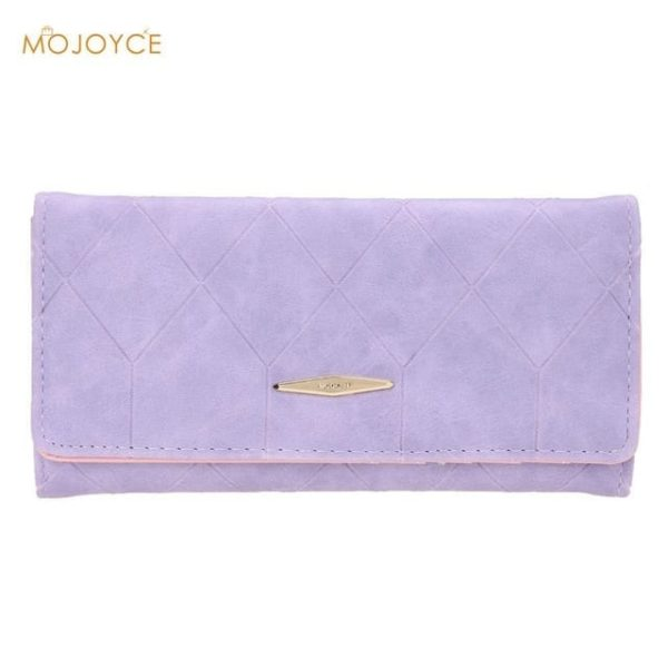 New Fashion PU Leather Women Wallets Vintage 11
