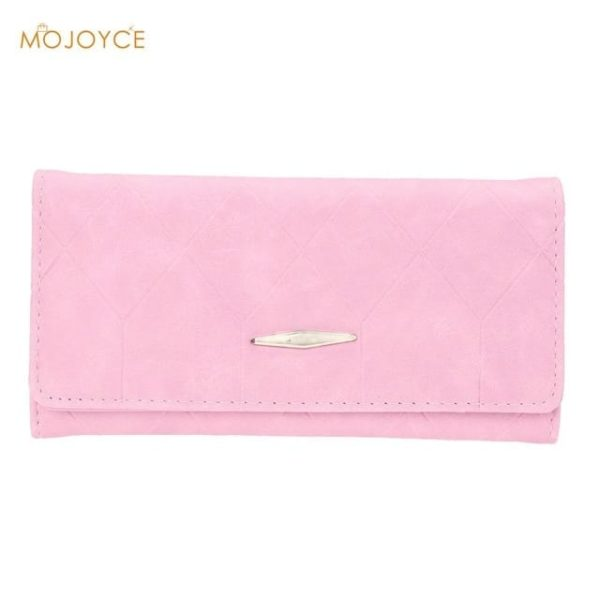 New Fashion PU Leather Women Wallets Vintage 7