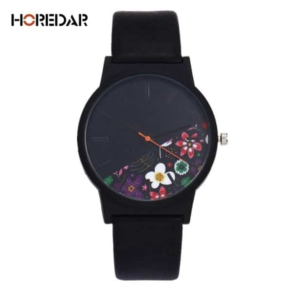 New Luxury Vintage Leather Women Watches 10