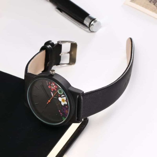 New Luxury Vintage Leather Women Watches 6