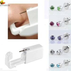 OPPOHERE Ear Piercing Kit Disposable Body Piercing