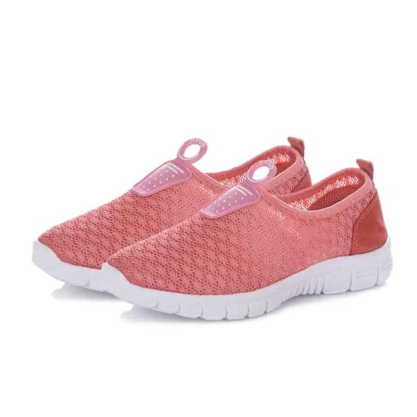 Air Mesh Breathable Casual Pink