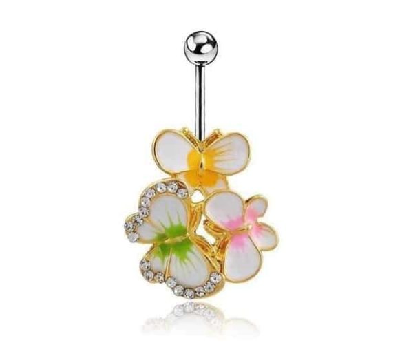 Sexy Dangle Navel Belly Button Rings 21