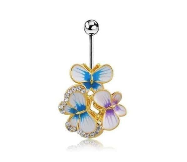 Sexy Dangle Navel Belly Button Rings 22