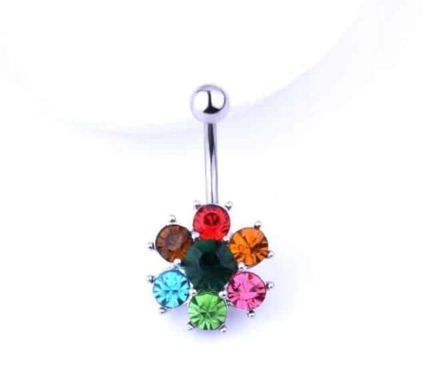 Sexy Dangle Navel Belly Button Rings 24