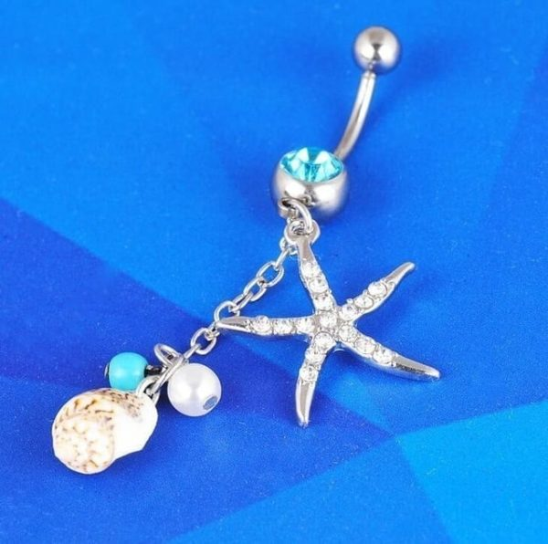 Sexy Dangle Navel Belly Button Rings 10