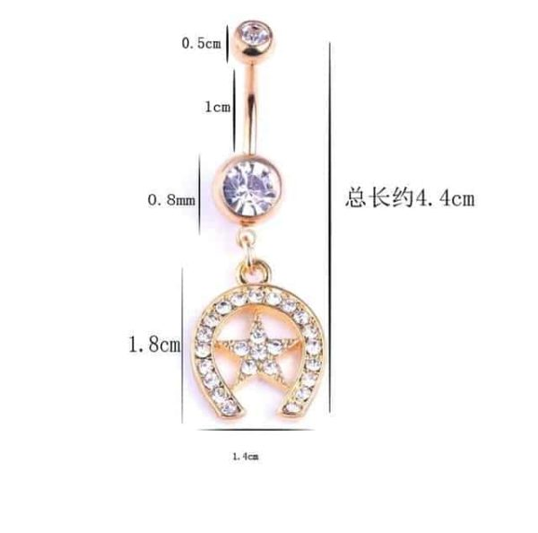 Sexy Dangle Navel Belly Button Rings 11
