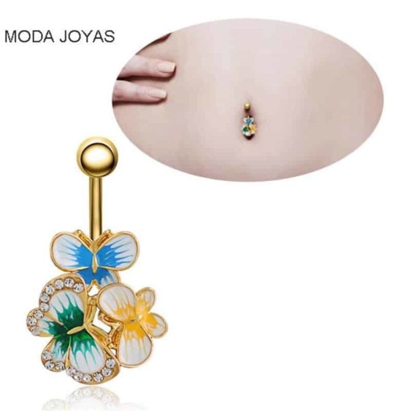 Sexy Dangle Navel Belly Button Rings 6