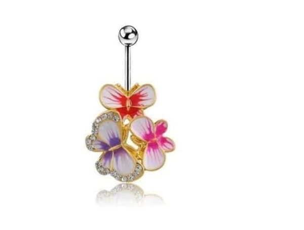 Sexy Dangle Navel Belly Button Rings 14