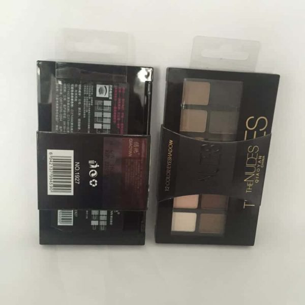 Shine NUDES 12Colors Matte Natural Eyeshadow Pallete with Brush 4