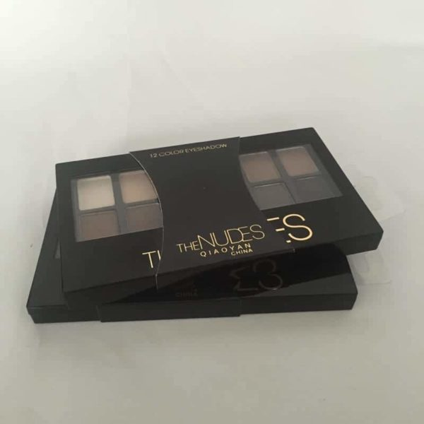 Shine NUDES 12Colors Matte Natural Eyeshadow Pallete with Brush 5