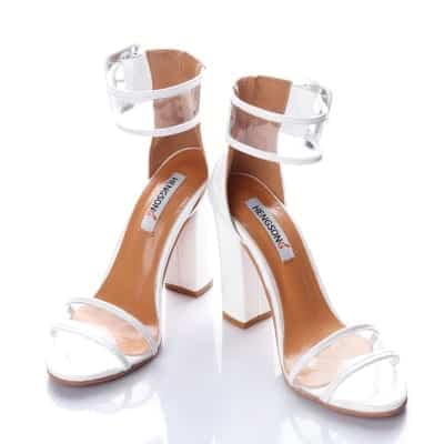 Super High Shoes Sexy Clear Transparent Strap Buckle 8