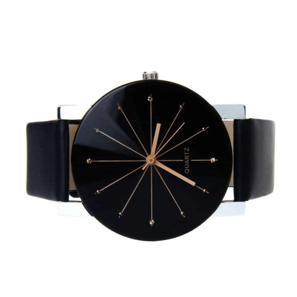 Luxury Watches PU Leather Military Time Clock 3