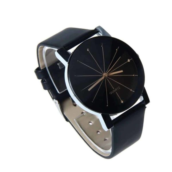 Luxury Watches PU Leather Military Time Clock 5