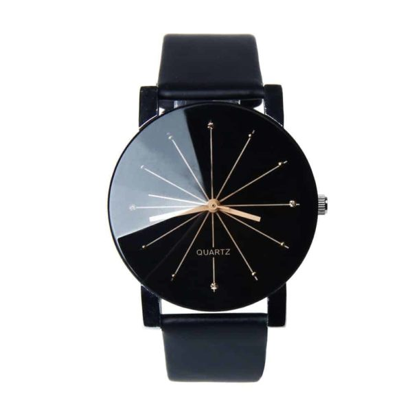 Luxury Watches PU Leather Military Time Clock 6