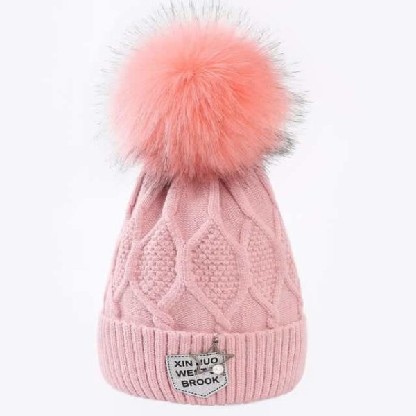 Straight Knited Beanies Cap Hooded 27