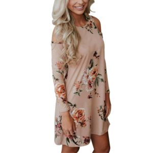 Cold Shoulder Dresses Floral